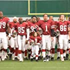 Morris Chestnut, Dwayne Johnson, Brian White, Jamal Duff, Hayes MacArthur, and Madison Pettis in The Game Plan (2007)