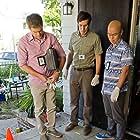 Michael C. Hall, C.S. Lee, and Josh Cooke in Dexter (2006)
