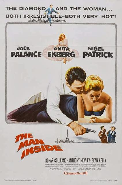 Anita Ekberg and Jack Palance in The Man Inside (1958)