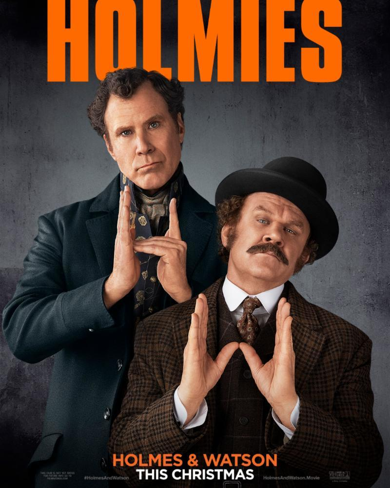 John C. Reilly and Will Ferrell in Holmes & Watson (2018)