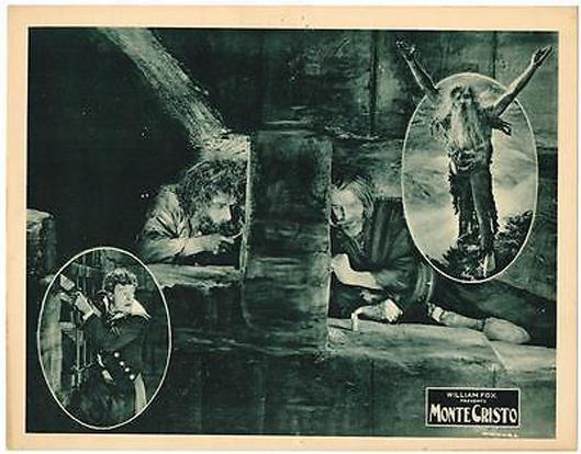 Spottiswoode Aitken and John Gilbert in Monte Cristo (1922)
