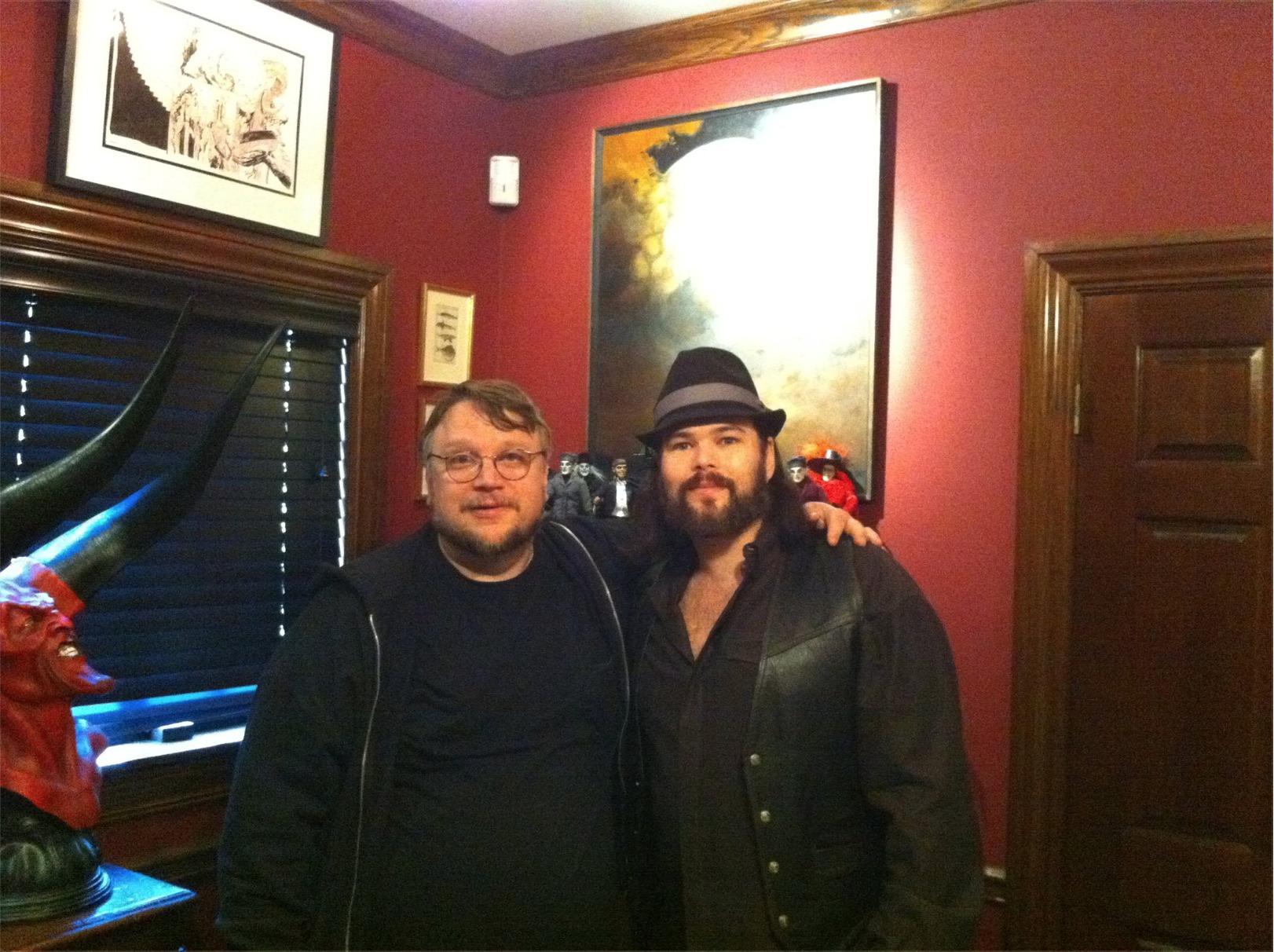 Guillermo del Toro and Chip Joslin