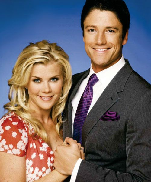 Alison Sweeney and James Scott in Days of Our Lives (1965)