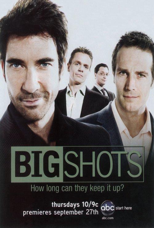 Dylan McDermott, Joshua Malina, Christopher Titus, and Michael Vartan in Big Shots (2007)