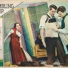 Cary Grant, Benita Hume, and Roscoe Karns in Gambling Ship (1933)