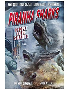 Piranha Sharks by Clayton Cogswell