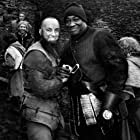 Michael Clarke Duncan and Samir Bezzah in George and the Dragon (2004)