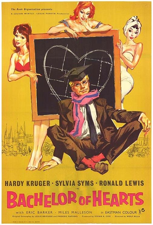 Hardy Krüger in Bachelor of Hearts (1958)