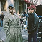 Denzel Washington and Jerry Bruckheimer in Deja Vu (2006)