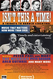Isn't This a Time! A Tribute Concert for Harold Leventhal Poster