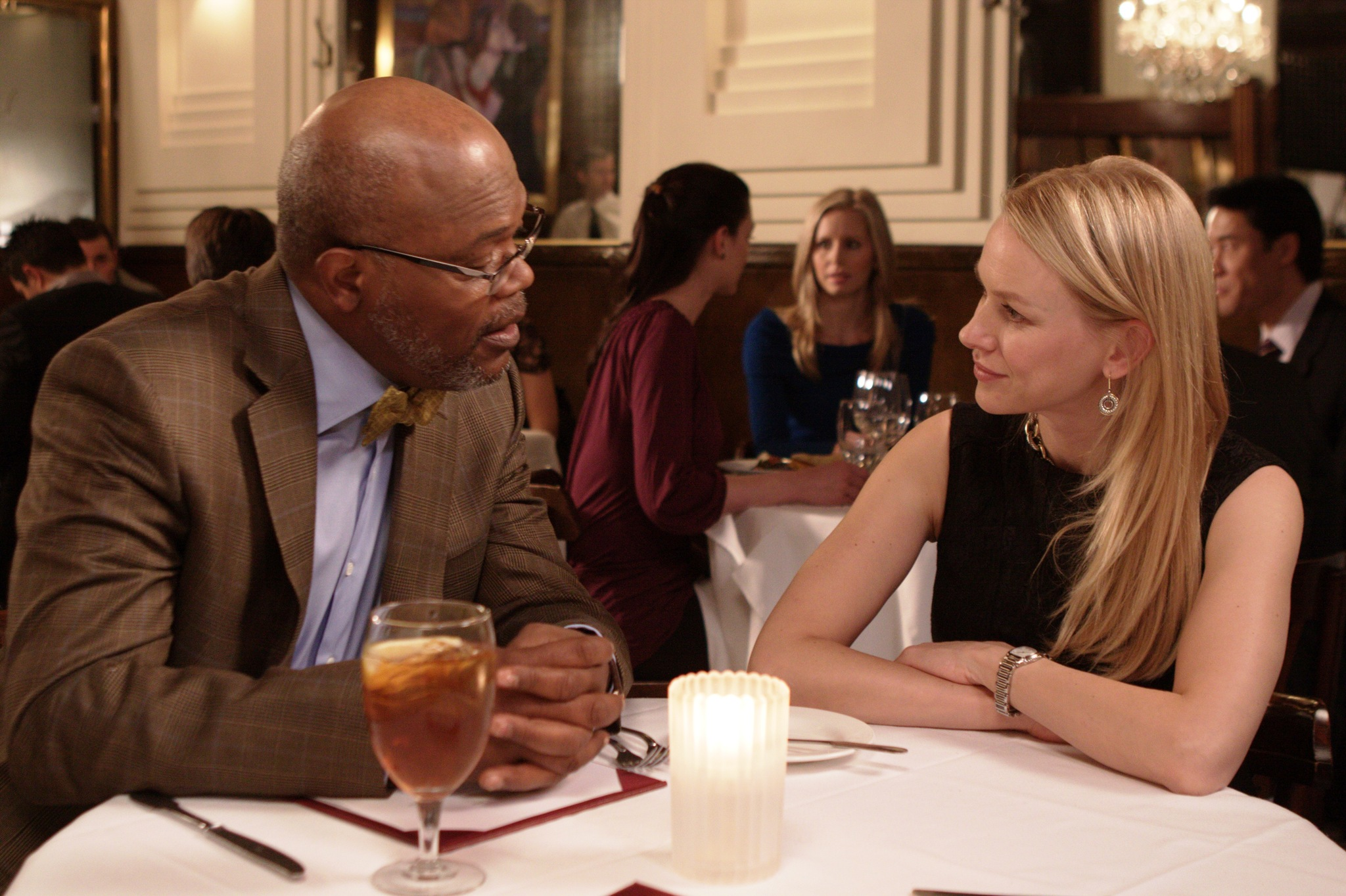 Samuel L. Jackson and Naomi Watts in Mother and Child (2009)