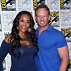 Vivica A. Fox and Ian Ziering at an event for Sharknado 2: The Second One (2014)