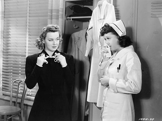 Frances Gifford and Anne Shirley in West Point Widow (1941)