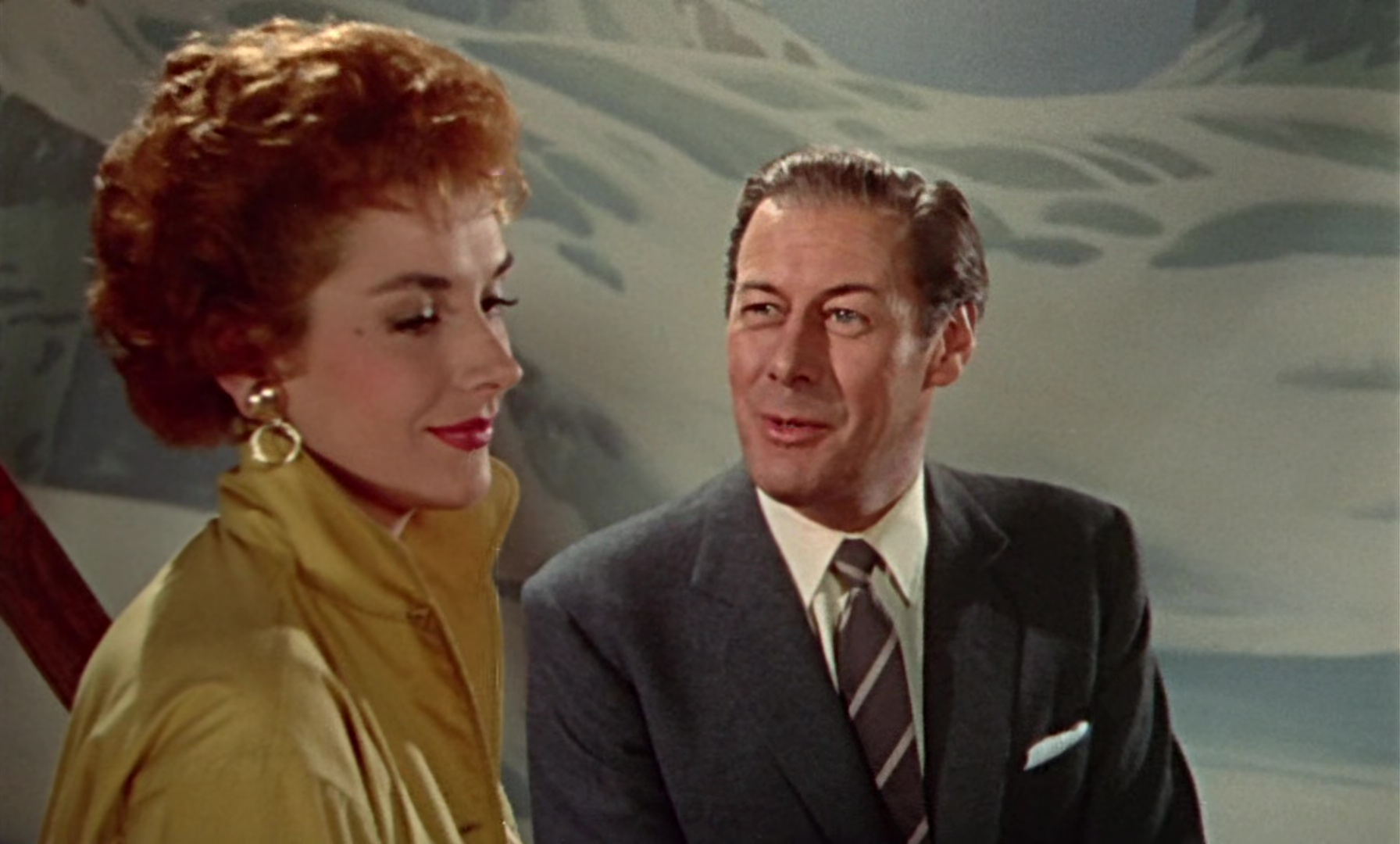 Rex Harrison and Kay Kendall in The Constant Husband (1955)