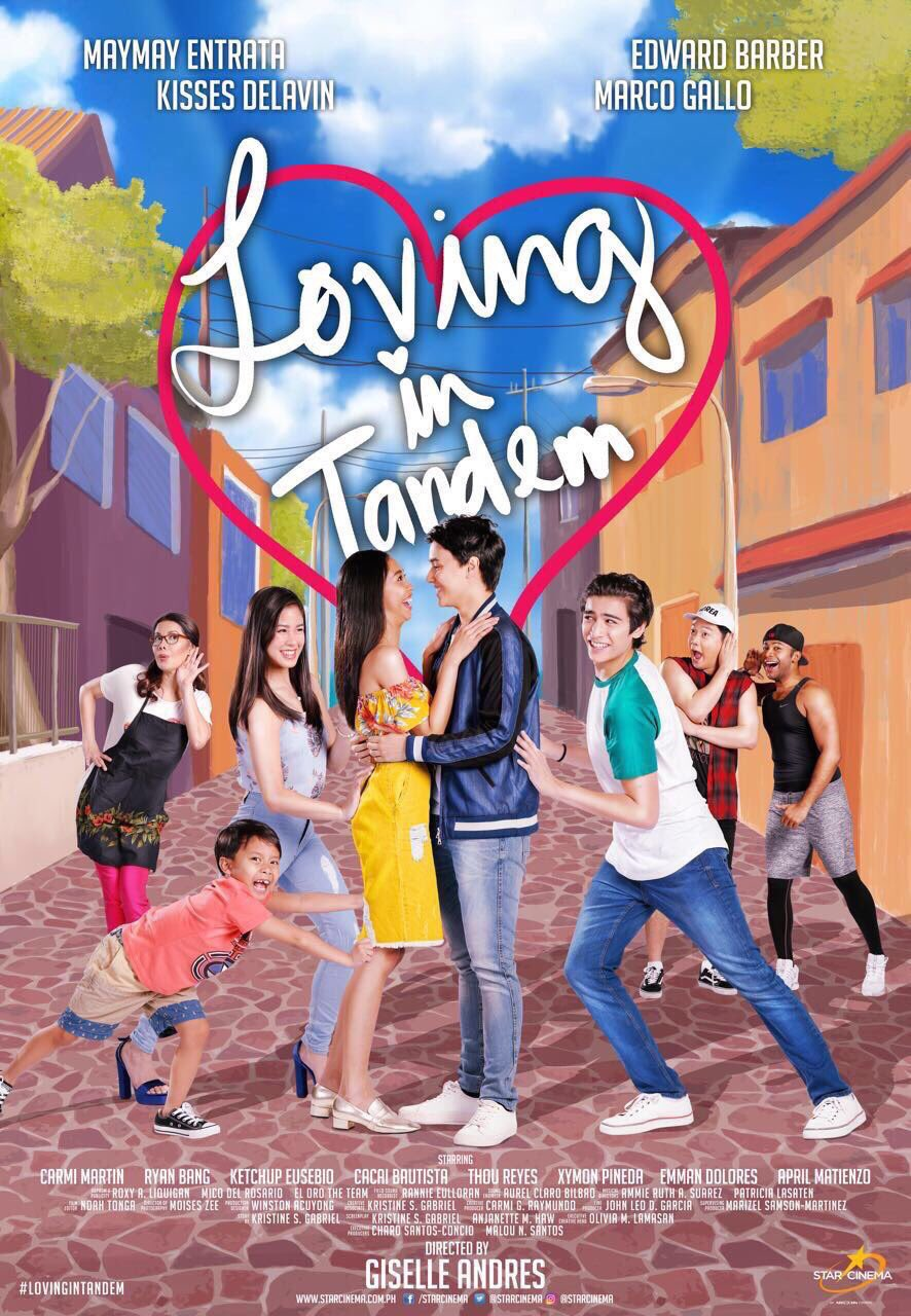 Carmi Martin, Thou Reyes, Ryan Bang, Onyok Pineda, Kisses Delavin, Edward Barber, Maymay Entrata, and Marco Gallo in Loving in Tandem (2017)