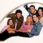 Sarah Alexander, Gina Bellman, Richard Coyle, Jack Davenport, Kate Isitt, and Ben Miles in Coupling (2000)