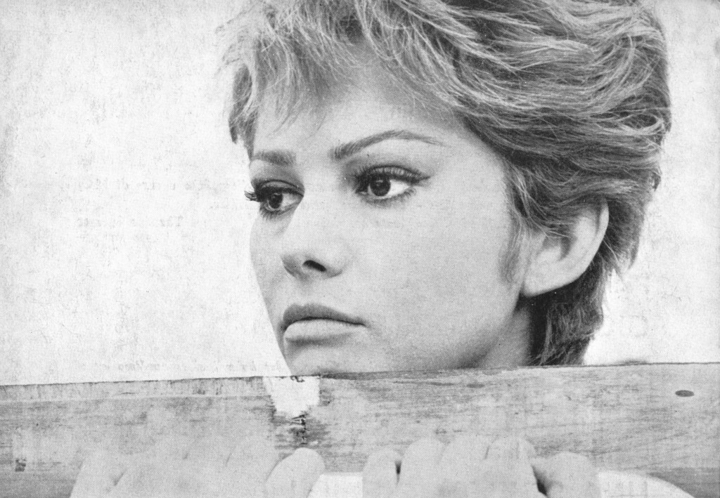 Claudia Cardinale in La ragazza di Bube (1964)