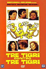 Three Tigers Against Three Tigers Poster