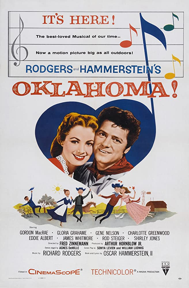 Shirley Jones and Gordon MacRae in Oklahoma! (1955)