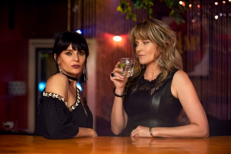 Lucy Lawless and Danielle Cormack in My Life Is Murder (2019)
