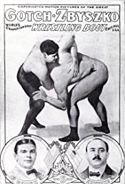 Gotch-Zbyszko World's Championship Wrestling Match Poster