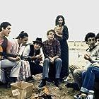 Vered Cohen, Omri Dolev, Noa Goldberg, Shahar Segal, Yoav Tzafir, and Dor Zweigenboim in Blues Lahofesh Hagadol (1987)