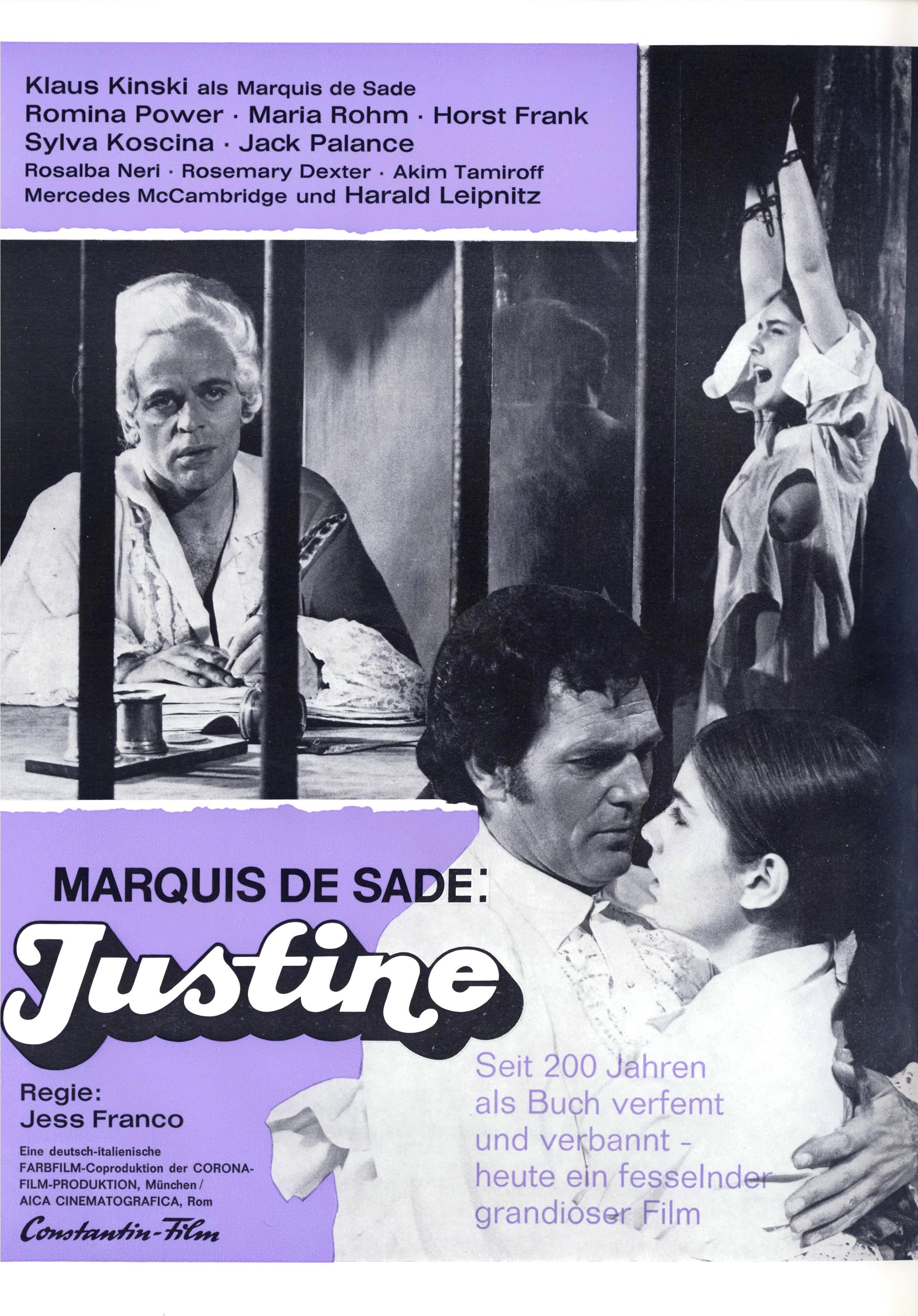 justine de sade 1972 trailer