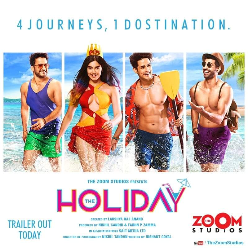 The Holiday S01 2019 Web Series Hindi MX WebRip All Episodes 50mb 480p 150mb 720p 700mb 1080p