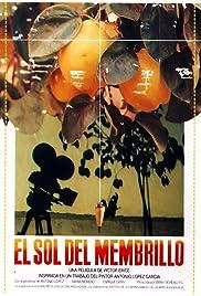 El sol del membrillo Poster