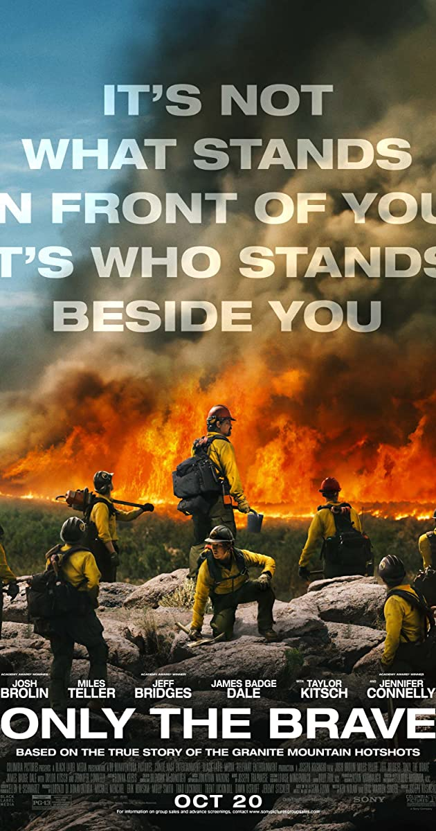 Subtitle of Only the Brave