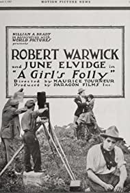 Doris Kenyon and Robert Warwick in A Girl's Folly (1917)