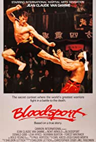 Jean-Claude Van Damme and Forest Whitaker in Bloodsport (1988)