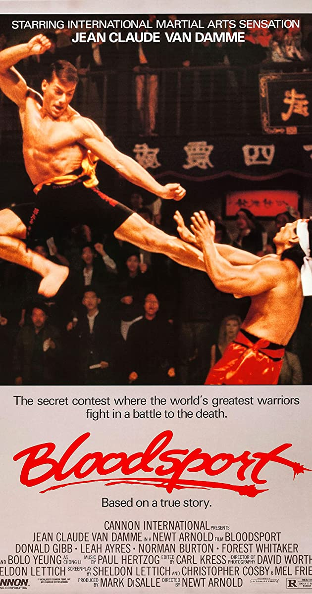 Play or Watch Movies for free Bloodsport (1988)