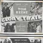 Joan Barclay, James Bush, Tom Keene, Walter Long, and William Royle in The Glory Trail (1936)