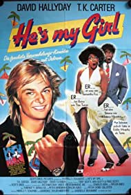 T.K. Carter and David Hallyday in He's My Girl (1987)