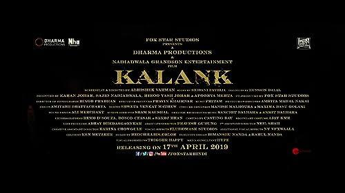 Kalank | Teaser