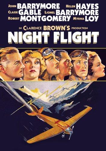 Clark Gable, John Barrymore, Lionel Barrymore, Myrna Loy, Helen Hayes, and Robert Montgomery in Night Flight (1933)