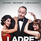 Jean Reno, Reem Kherici, and Camille Chamoux in Mes trésors (2017)