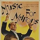 June Allyson, Hugh Herbert, Jimmy Durante, Marsha Hunt, José Iturbi, and Margaret O'Brien in Music for Millions (1944)