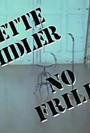 Bette Midler: No Frills Poster