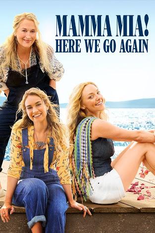 Meryl Streep, Amanda Seyfried, and Lily James in Mamma Mia! Here We Go Again (2018)