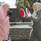 Aanisa Vylet and Jessica Phoebe Hanna in Halal Gurls (2019)