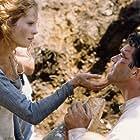 Antonio Banderas and Maria Bonnevie in The 13th Warrior (1999)