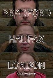 Bradford Halifax London Poster