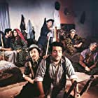 Halit Akçatepe, Metin Akpinar, Zeki Alasya, Perran Kutman, Kemal Sunal, Meral Zeren, and Oya Alasya in Salak Milyoner (1974)