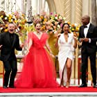 Drew Barrymore, Kevin Frazier, Ross Mathews, and Nischelle Turner in The Drew Barrymore Show (2020)