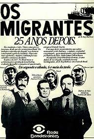 Othon Bastos, Rubens de Falco, and Altair Lima in Os Imigrantes (1981)