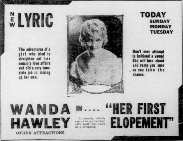 Her First Elopement (1920)
