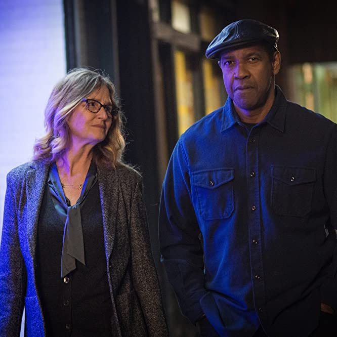 Denzel Washington and Melissa Leo in The Equalizer 2 (2018)
