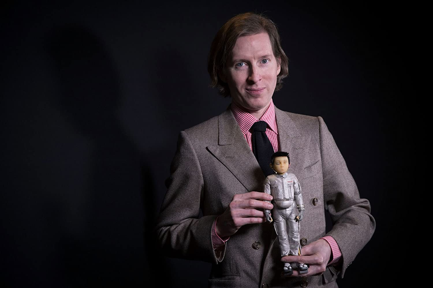 Wes Anderson at an event for Isle of Dogs (2018)